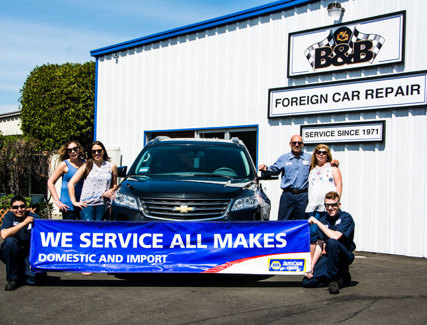 B & B Foreign Car Repair Auto Repair Shop